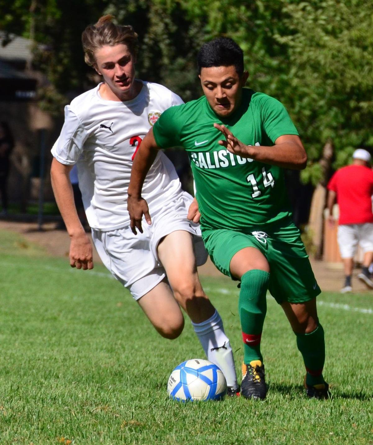 Calistoga High boys soccer