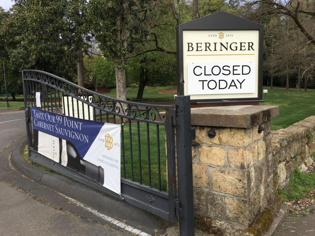 Beringer closed