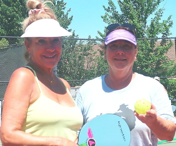 Patti and Susan Segal of the Napa Valley Pickleball Association
