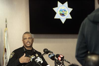 Napa Police Chief Robert Plummer