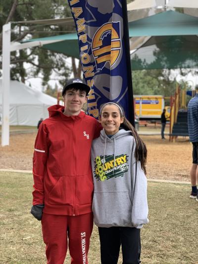 Jordan Reilly and Harper McClain