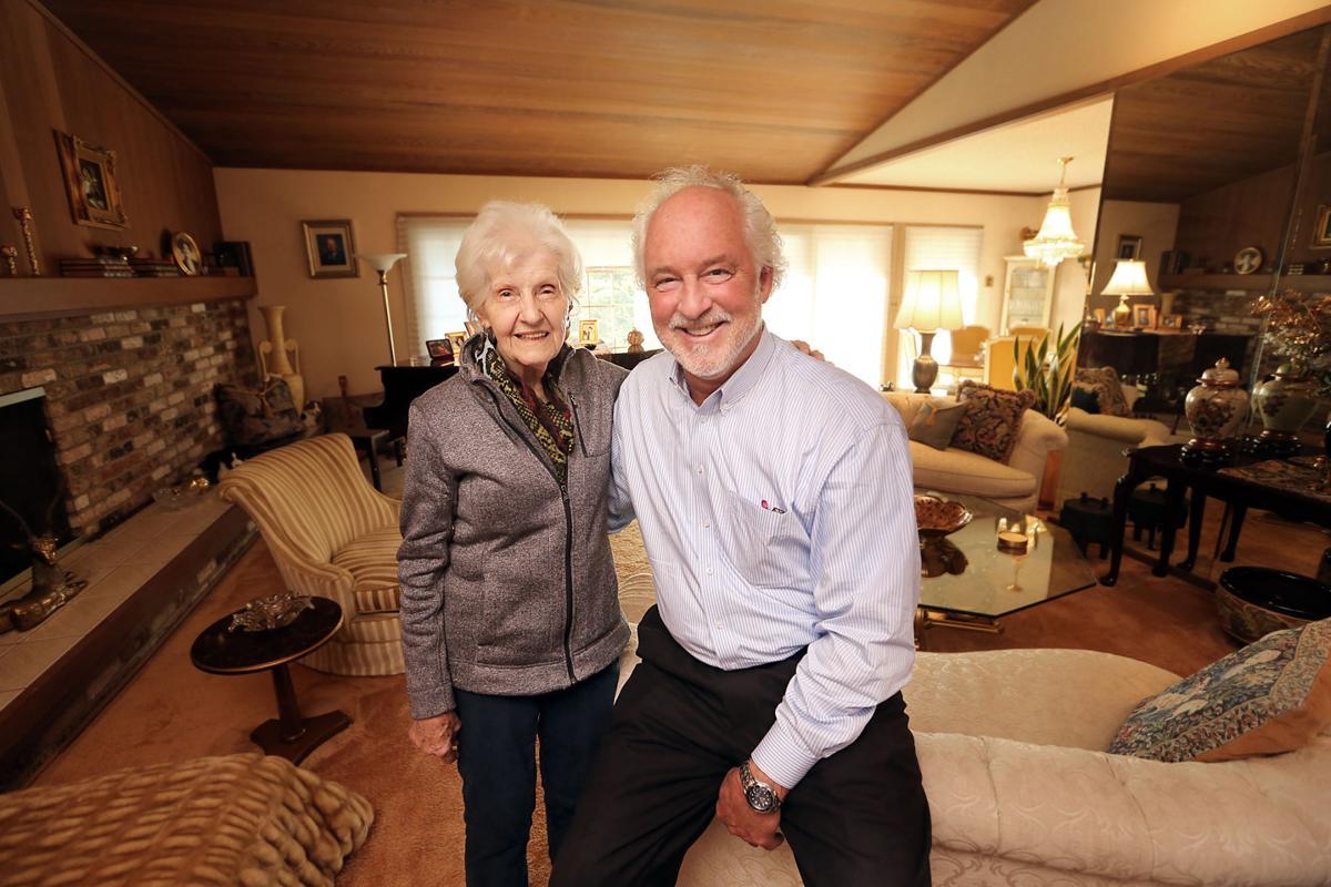 Dorothy Larson and Glenn Weckerlin