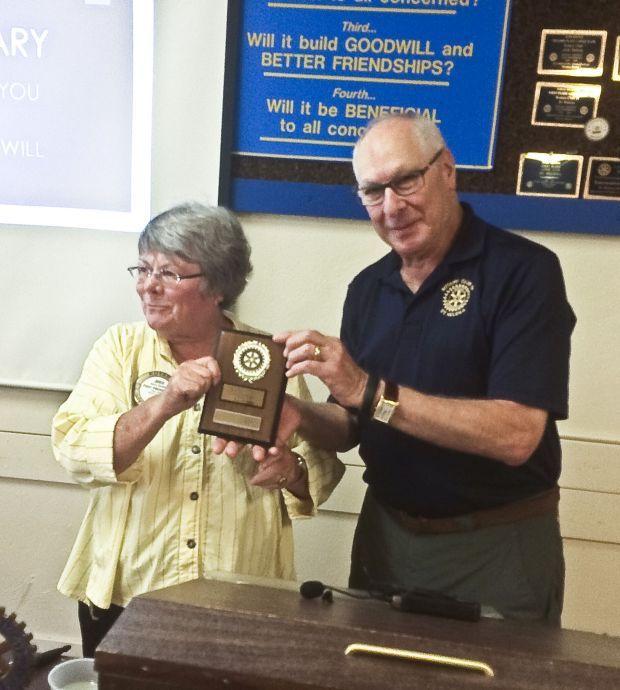 Rotary honors Beatty