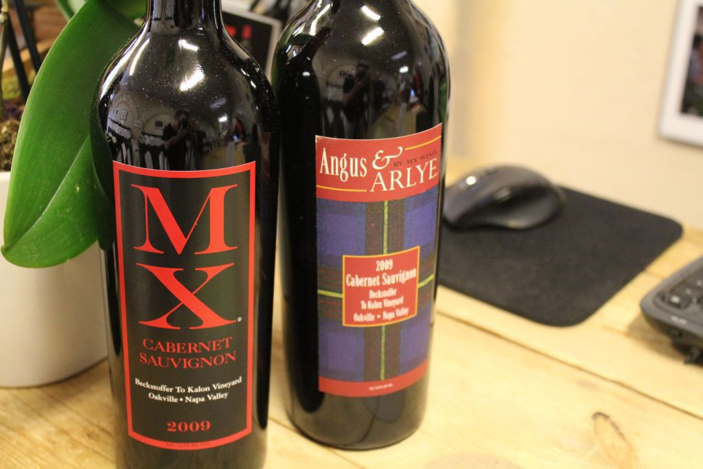 Margaux Singleton's own wine labels