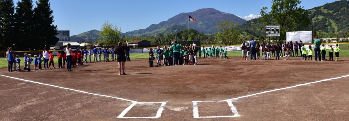 Calistoga Little League Opening Day