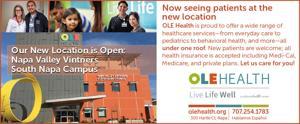 OLE Health Napa Location Now Open