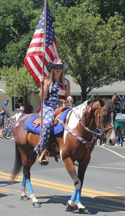 Calistoga Fourth of July parade 2019