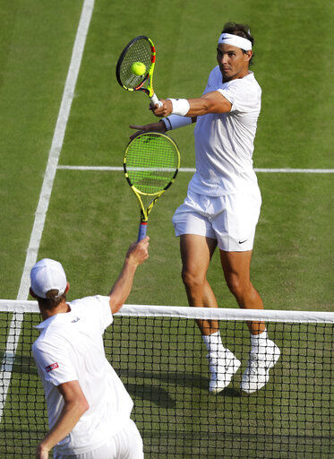Federer, Nadal to play at Wimbledon for 1st time since 2008