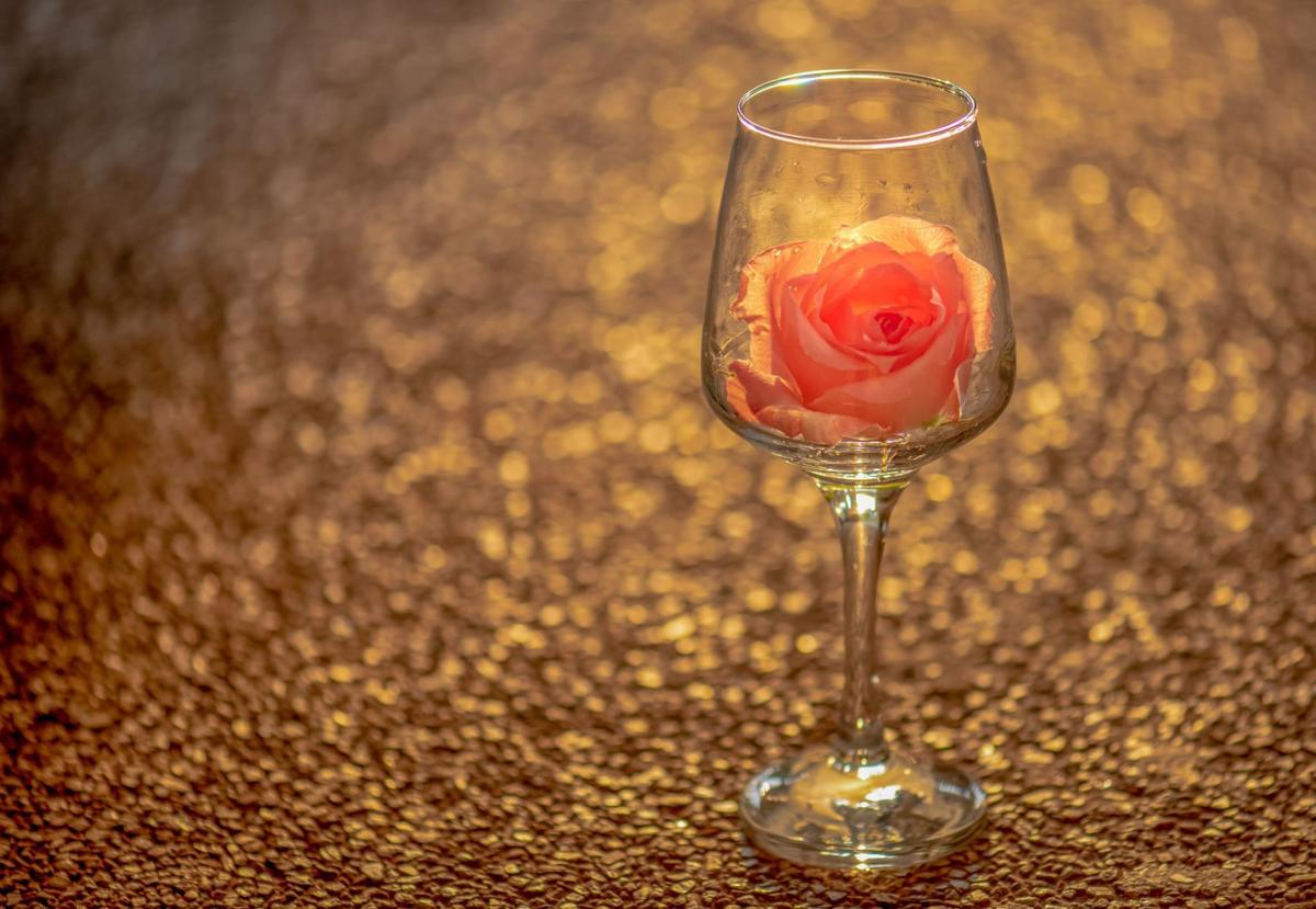 Rose wine 2