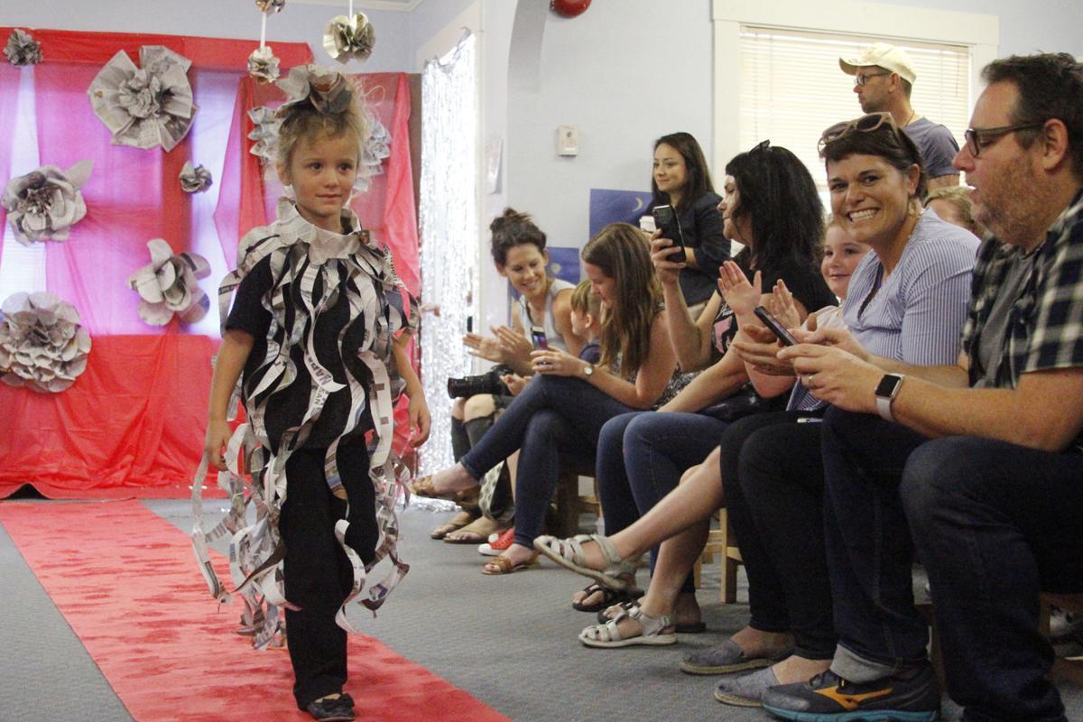 Hopper Creek Montessori School summer fashion show