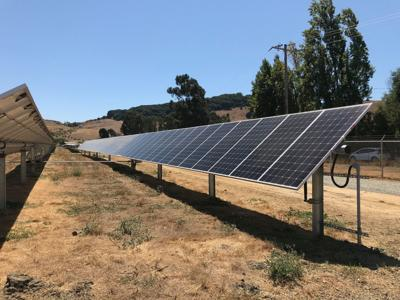 An American Canyon solar farm