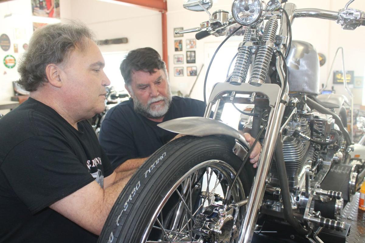 Mike Nieman and Tom Harding in St. Helena