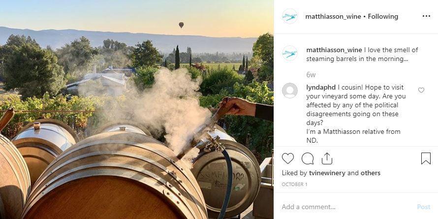 Matthiasson Instagram