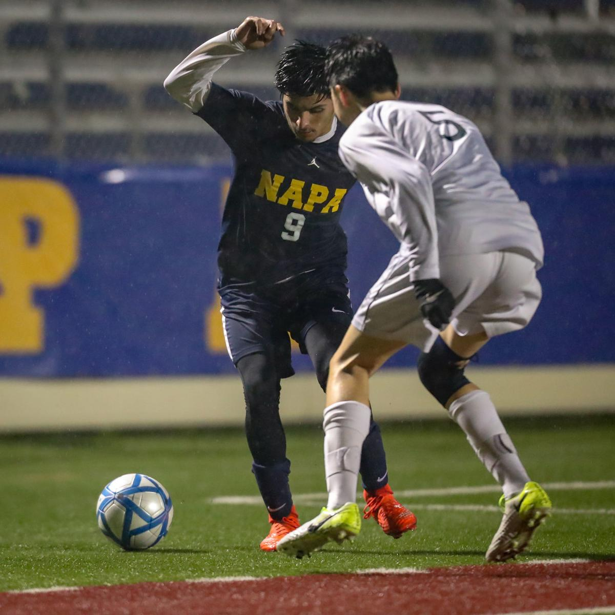Castro Valley at Napa in boys soccer playoffs
