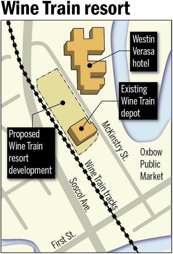 Wine Train resort map