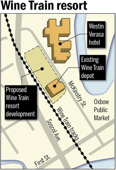 Wine Train resort map