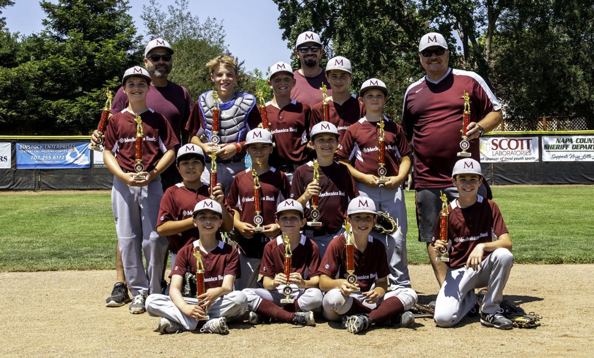 Mechanics Bank, Napa Little League champion