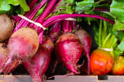 Beets at St. Helena Farmers' Market