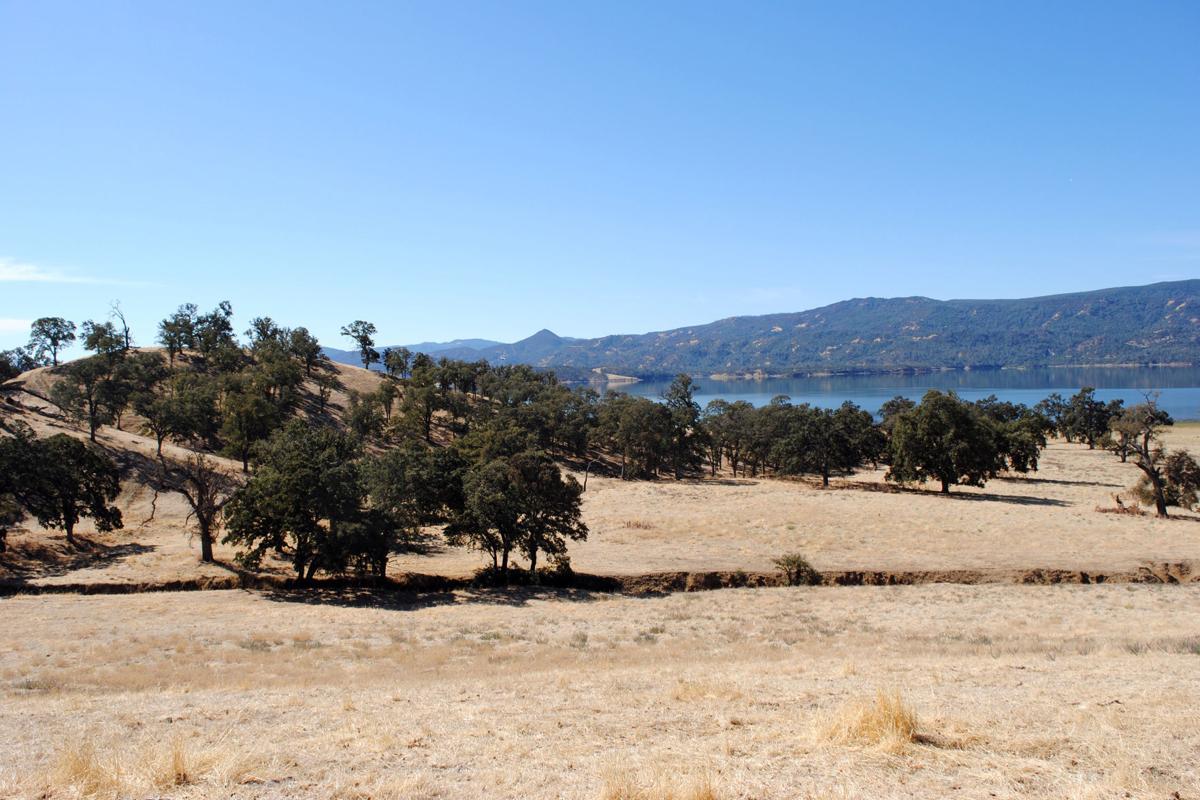 Lake Berryessa easement