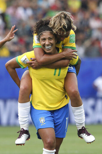 Cristiane's hat trick give Brazil 3-0 win over Jamaica