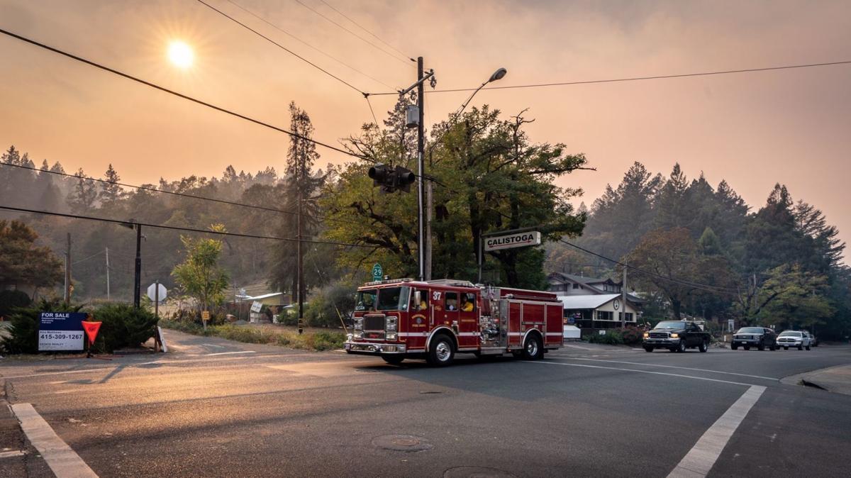 Calisotga and Kincade Fire
