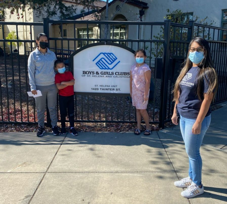 Boys & Girls Clubs of St. Helena and Calistoga helps Glass Fire victims