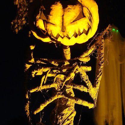 Evil Vines Cemetery's Pumpkin Sentinel