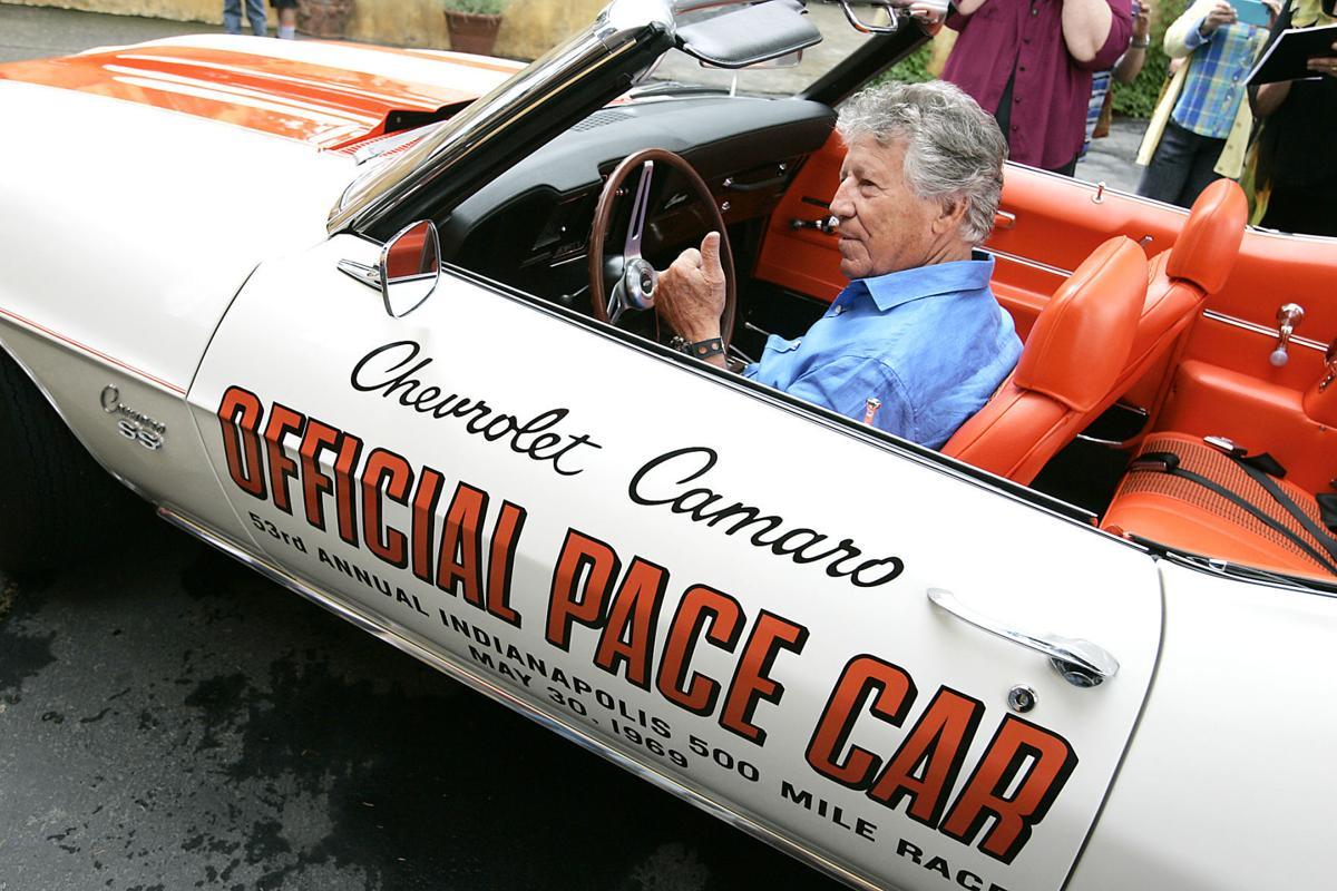 Pace Car Crash Indy