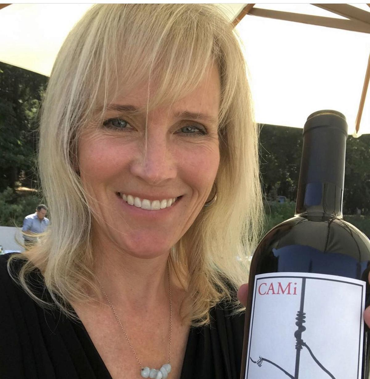 Laurie Shelton, owner of CAMi Vineyards