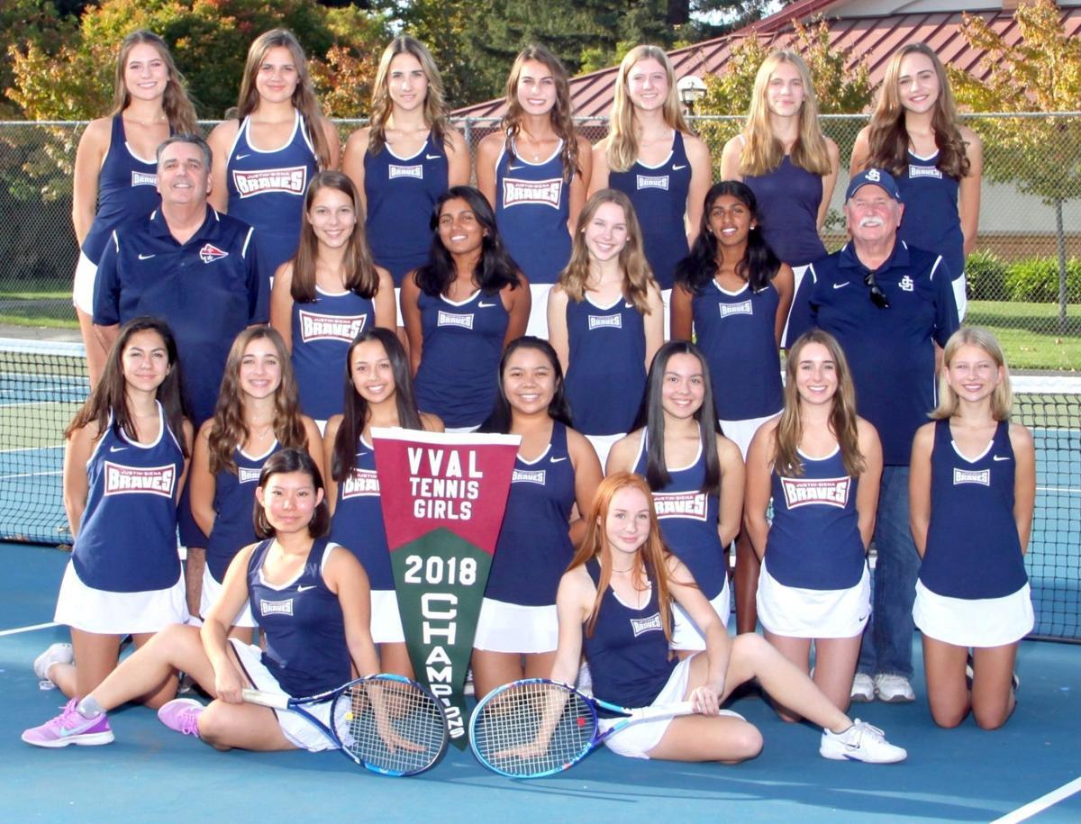 Justin-Siena girls tennis