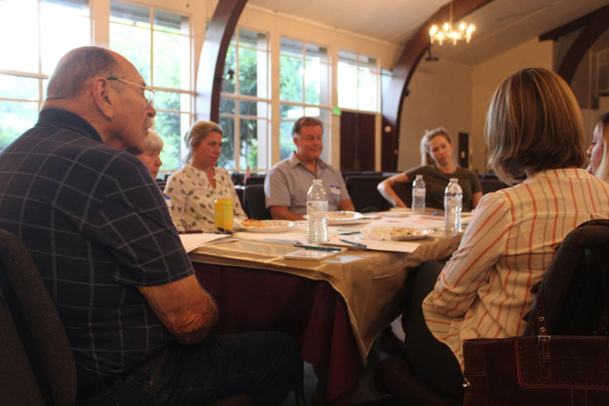 Community discussion on housing at Napa Valley Register dinner event