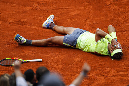 Dirty dozen: Nadal wins 12th French Open for 18th Slam title