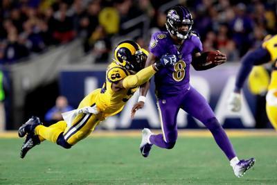 Ravens Rams Football