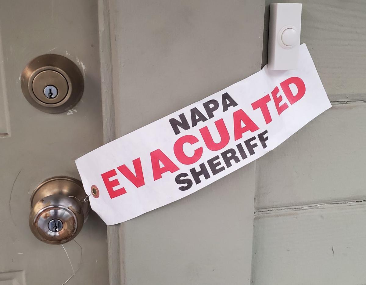 Angwin evacuation