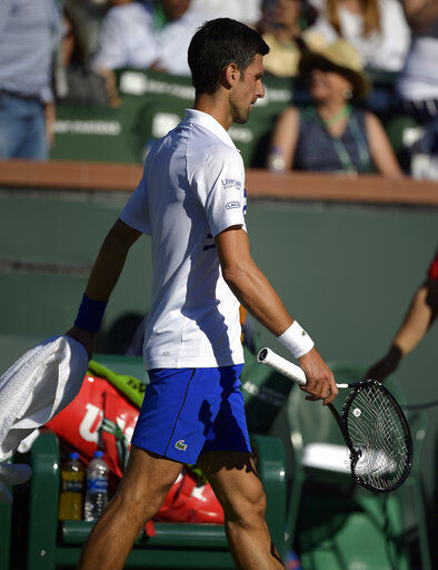 Bad day for No. 1s: Djokovic, Osaka upset at Indian Wells