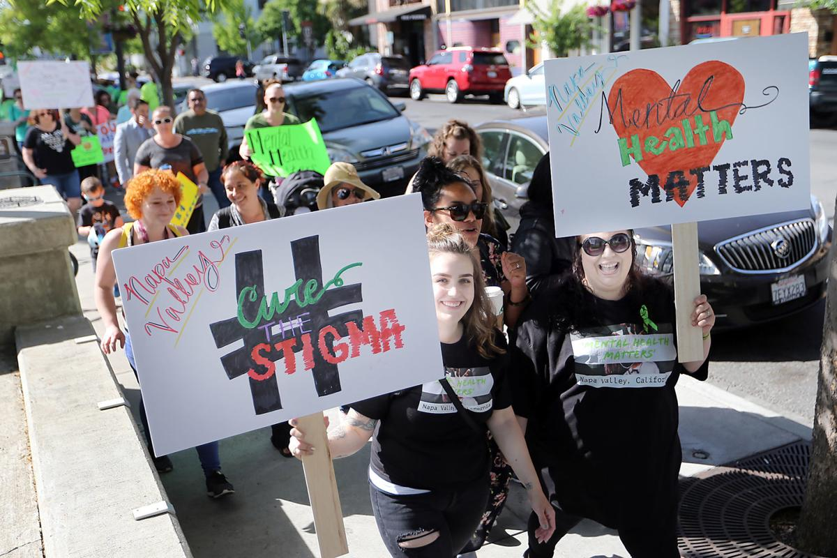 Mental Health March Challenges Napa County Treatment Options