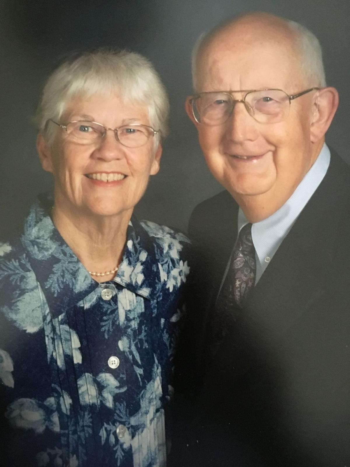 Millers celebrate 60th wedding anniversary