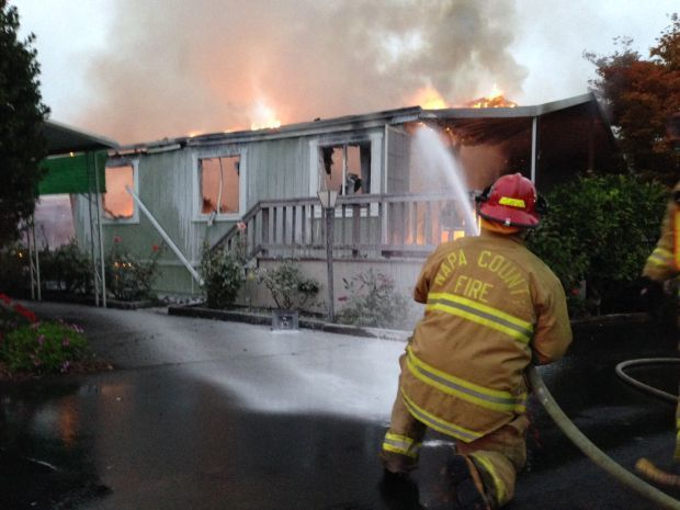 Fire follows Napa earthquake