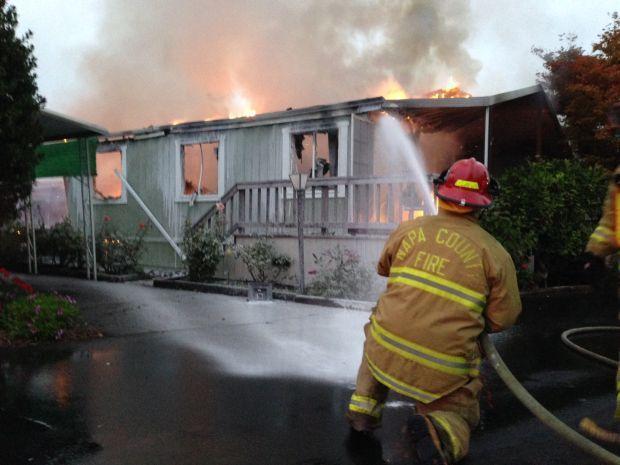 Fire follows Napa earthquake
