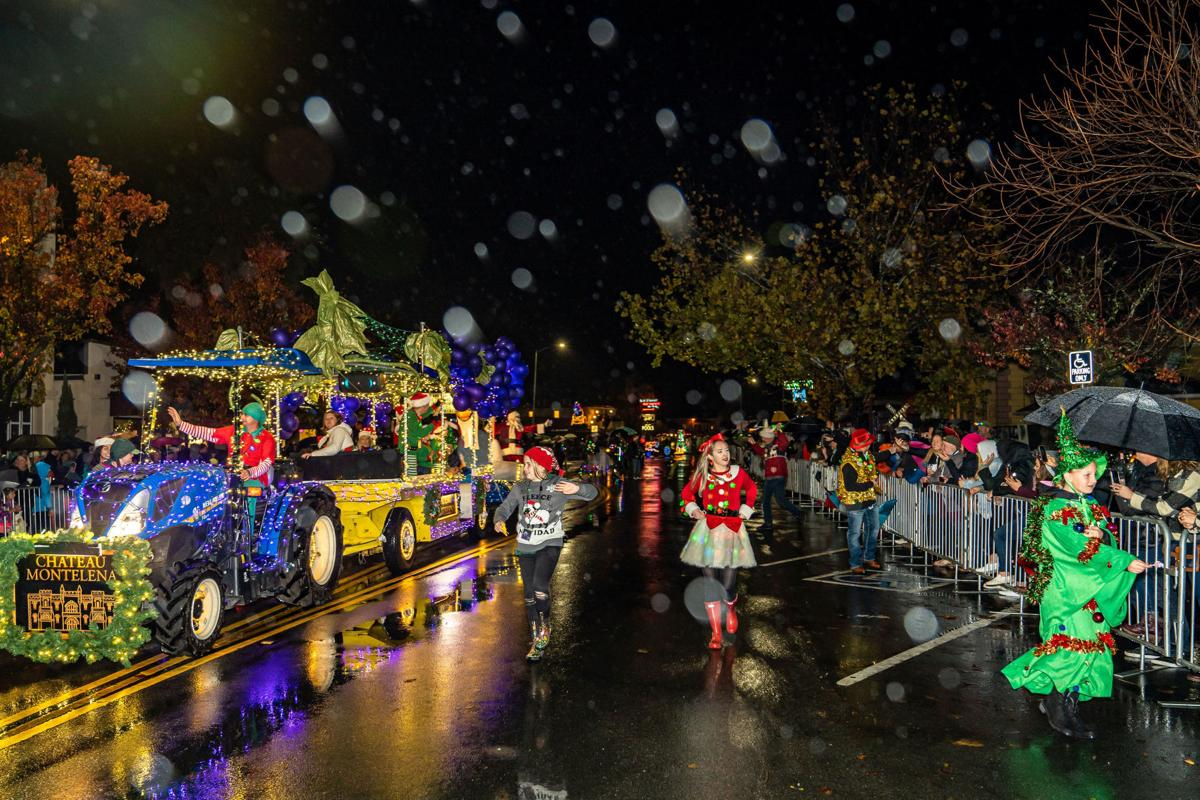 Calistoga Lighted Tractor Parade 2019