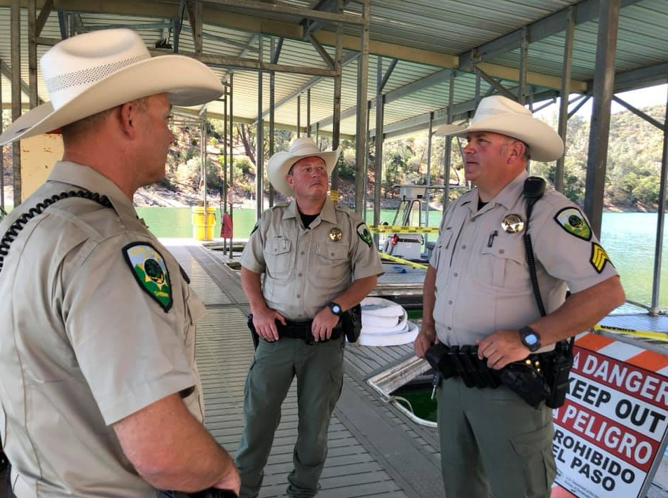 Napa County Sheriff's Office cowboy hats