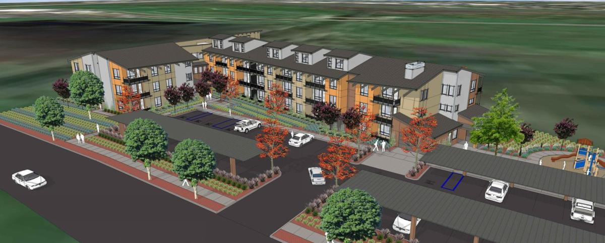 Stoddard West apartments planned in Napa