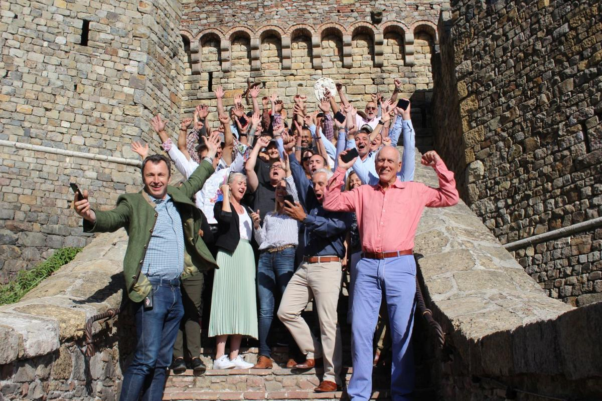 "Castello di Amorosa is ""Best Tasting Room"""