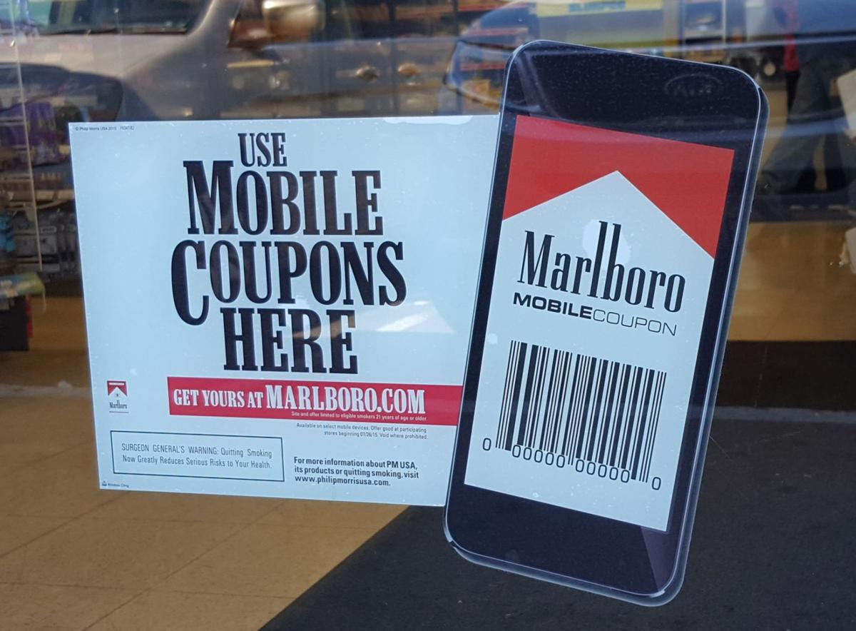 It's just a graphic of Declarative In Store Cigarette Coupons