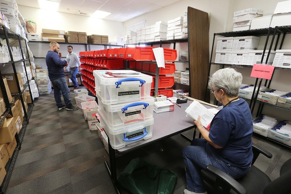 Counting votes in Napa County