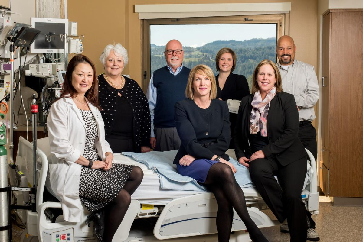 Adventist Health St. Helena employees helped raise funds for new hospital beds