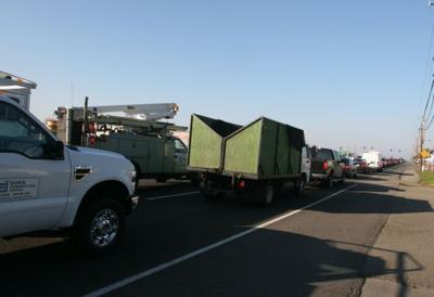 Highway 29 traffic in AmCan