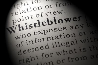 definition of whistleblower