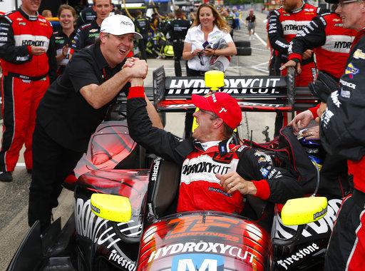 Vasser, Sullivan back in IndyCar with Coyne partnership