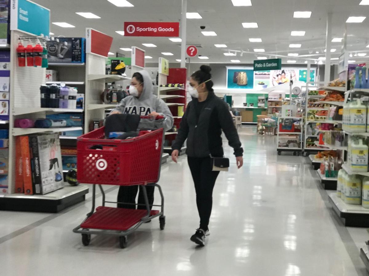 Napa Target shoppers